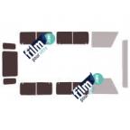 Kit film solaire prédécoupé Mercedes CLASSE R COURT (Depuis 2006)