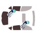 Kit film solaire prédécoupé Mercedes CLASSE G 5 portes (Depuis 2007)