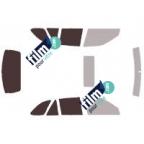 Kit film solaire prédécoupé Mercedes CLASSE E COUPE (Depuis 2009)
