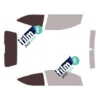 Kit film solaire prédécoupé Mercedes CLASSE E BREAK (Depuis 2009)