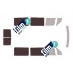 Kit film solaire prédécoupé Mercedes CLASSE E 4 portes (Depuis 2009)