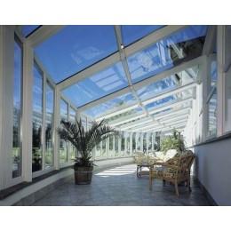 Film solaire adhésif réfléchissant Argent pour polycarbonate et plexiglass