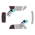 Kit film solaire prédécoupé Mercedes CLASSE B 5 portes (Depuis 2012)