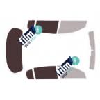 Kit film solaire prédécoupé Mercedes CLASSE A 5 portes (Depuis 2012)