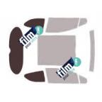 Kit film solaire prédécoupé Mercedes CLASSE A 3 portes (2004-2012)