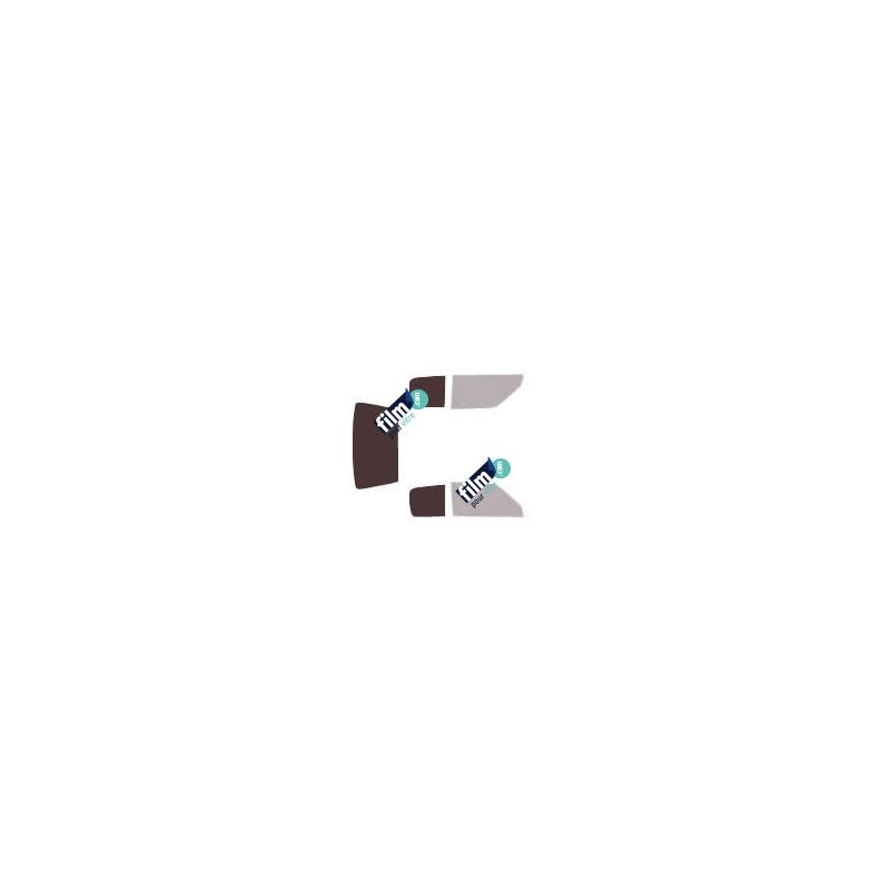 Film de protection depoli rose table en verre - 80 microns