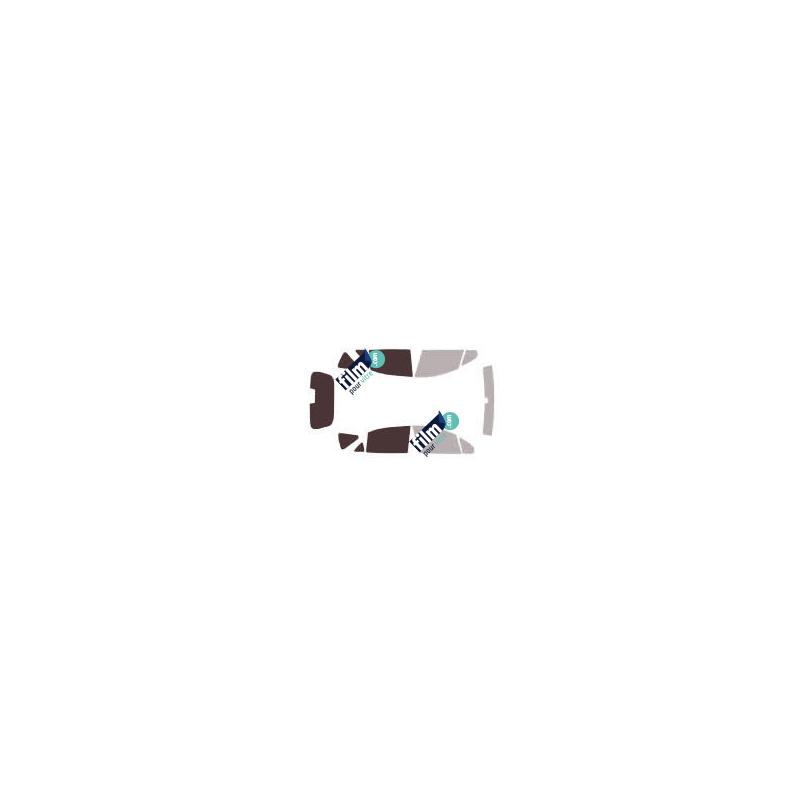 Film vitrostatique effet miroir sans tain repositionnable