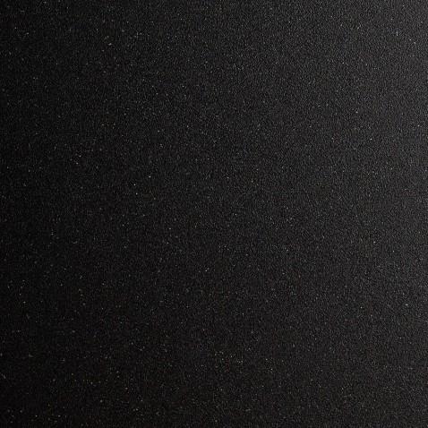 Rouleau adhésif noir pailleté mat pour murs et meubles