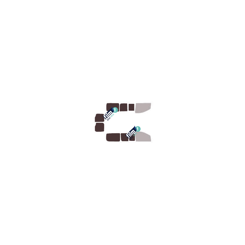 Film adhesif deco 218 Bandes dépolies 18-6mm