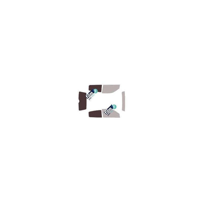 Pose film adhésif depoli rose pour vitre vitrage fenetre