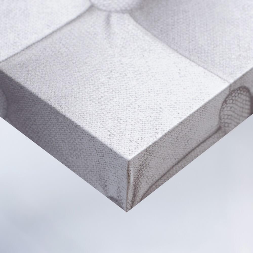Tissu - Beige matelassé