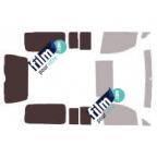 Kit film solaire prédécoupé Fiat PALIO Week end depuis 2009