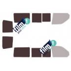Kit film solaire prédécoupé Fiat QUBO depuis 2008