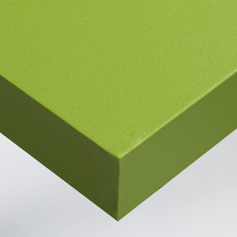 Film adhésif pour home staging Vert Pomme texture Grains Fins