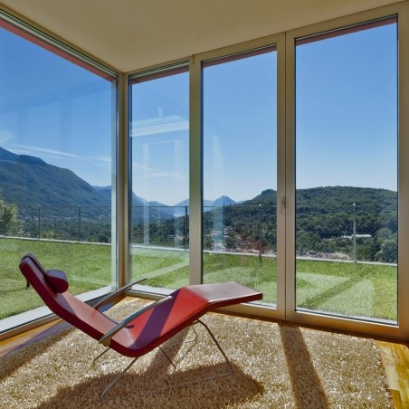 Film solaire réfléchissant Argent foncé pour fenetre de toit pose exterieure - rejet solaire 79%