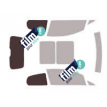 Kit film solaire Fiat Punto (3) Cut 3 portes (depuis 2005)