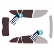 Kit film solaire Bmw Serie 3 (6) Touring Break 5 portes (2012 - 2018)