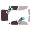 Kit film solaire Fiat Viaggo Berline 4 portes (depuis 2013)
