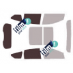 Kit film solaire Ford Kuga 5 portes (depuis 2013)