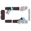 Kit film solaire Ford Custom Transit (1) Court 4 portes (depuis 2013) 1 porte latérale, vitres fixes et hayon