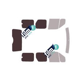 Kit film solaire Ford Connect (1) Tourneo 5 portes (2002 - 2013) hayon