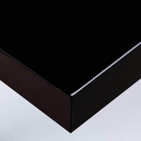 Vinyle adhésif meuble laqué noir originalité pour la décoration murale ou de mobilier