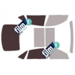 Kit film solaire Bmw Serie 3 (6) Gran-Tourismo 5 portes (depuis 2013)
