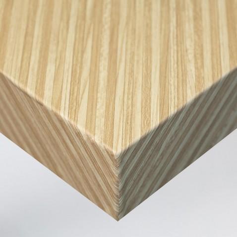Vinyle adhésif imitation Bois Or pour murs et meubles