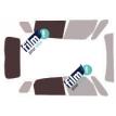 Kit film solaire Fiat 500 (1) L Trekking 5 portes (depuis 2014)