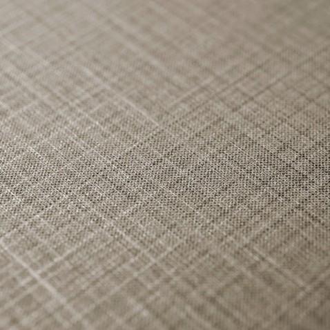 Adhésif décoratif effet Tissu à motif Lignes Argentées et Marron