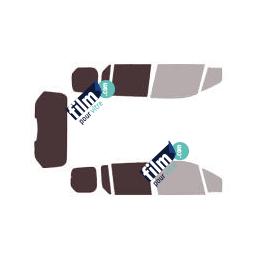 Kit film solaire Ford Connect (2) Tourneo 5 portes (depuis 2014) vitres descendantes avec hayon
