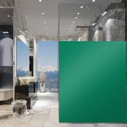 Film plastique vert nénuphar pour vitre vert pour cacher la vue - 80 microns