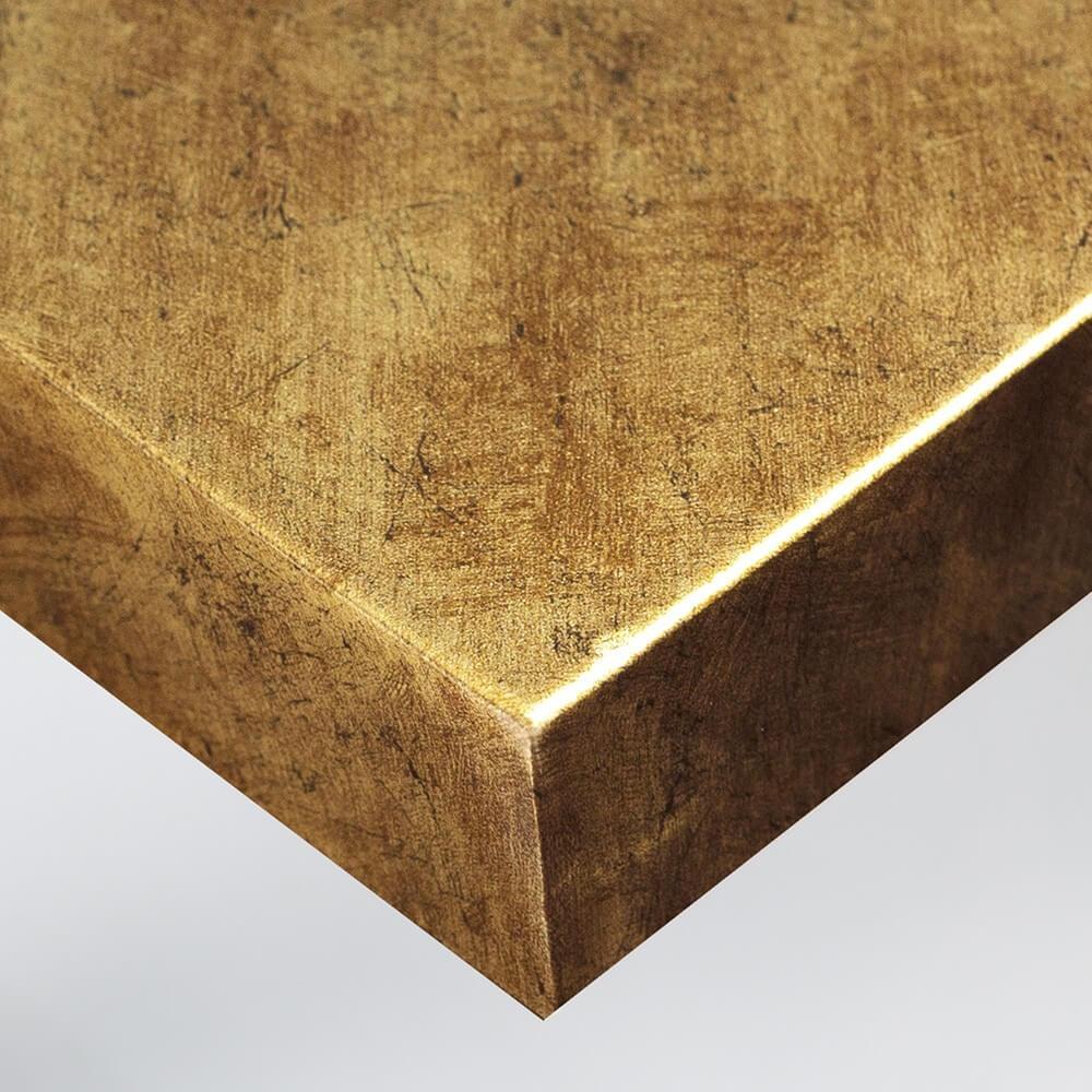 Tissu - Sablé doré