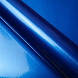 Covering pour casque de moto Bleu Métallisé - 3D