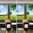 Filtre solaire teinté fumé pour vitrage faible effet réléchissant rejet total énergie solaire 65% - 60 microns