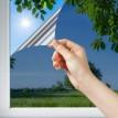Film solaire Bleu nuit très foncé pose intérieure - rejet de chaleur 82%