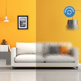 Film électrostatique décoratif effet gouttes d'eau