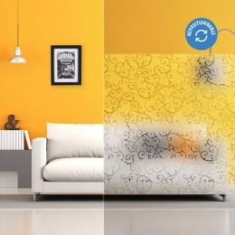Film électrostatique décoratif avec motif arabesque