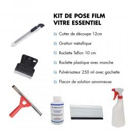 Kit de pose pour film pour vitrage