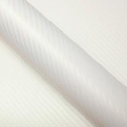 Vinyle covering pour moto Blanc nacré - 3D