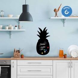 Sticker ardoise ananas