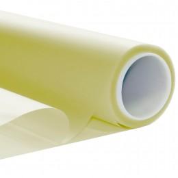 Film opaque fenetre depoli Jaune - 50 microns