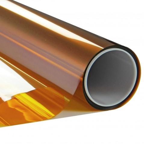 Film inactinique orange pour lumière et uv - 25 microns