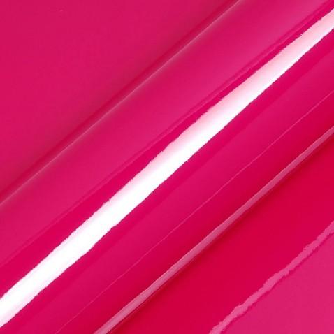 Film plastique autocollant rose fushia utilisé pour empêcher le vis-à-vis - 80 microns