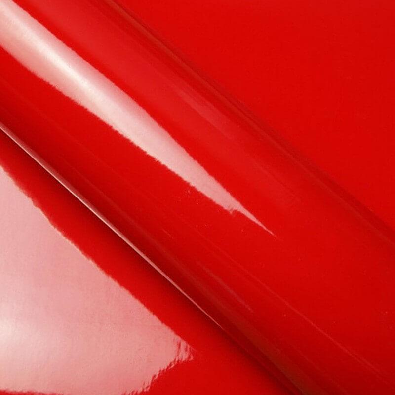 Rouge brillant pour surface plane