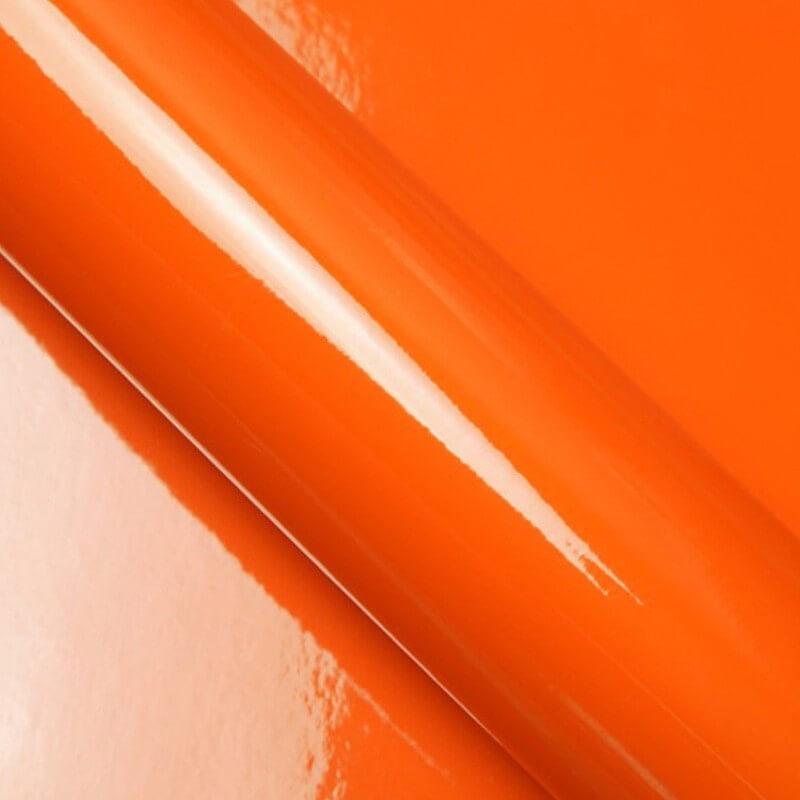 Orange brillant pour surface plane