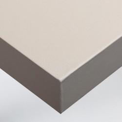 Papier peint adhésif coloris Gris Crème texture Grains Fins