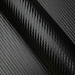 Film covering effet Carbone Noir - 2D