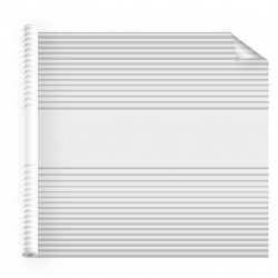 Film adhesif fenetre INT 560 bandes depolies symétriques