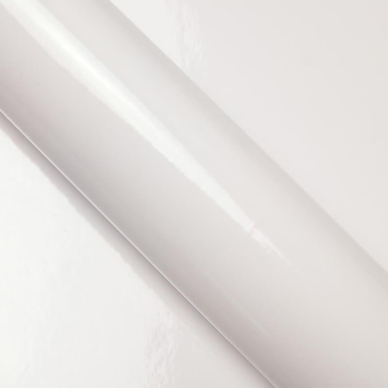 Film covering pour carrosserie Blanc Brillant - 2D